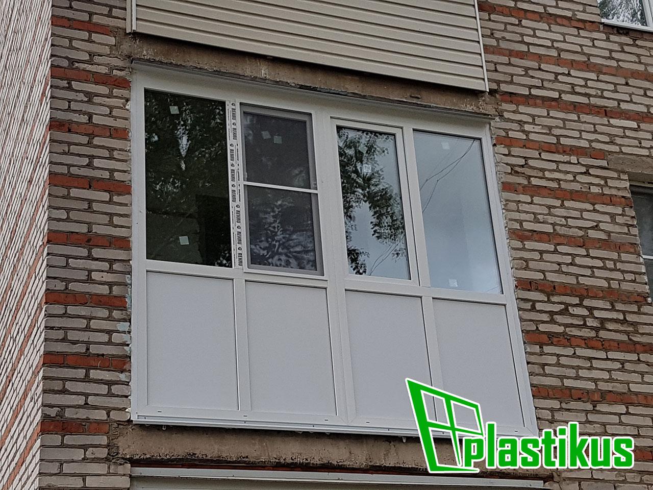 Фотогалерея наших работ - балконы и лоджии (фото).