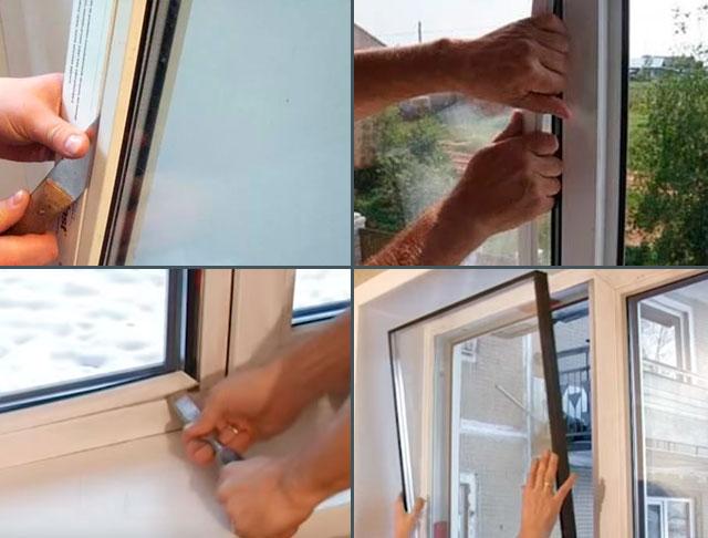 Как поменять стеклопакет в пластиковом окне своими руками 820